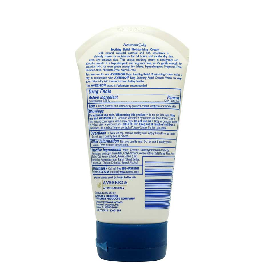 AVEENO® Baby Soothing Relief Moisture Cream